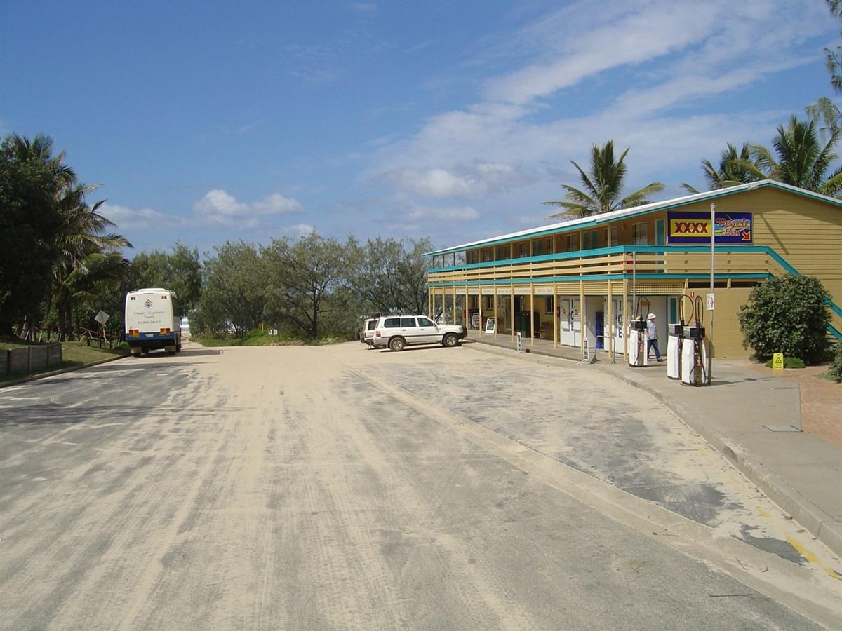 Fuel Station Fraser Island