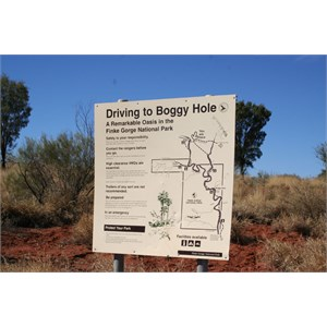 Larapinta Drive & Boggy Hole Access