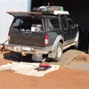 The Pilbara - Port Hedland - Fitting the new fuel tank.