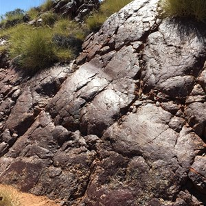Carrowine Glaciated Rock Outcrop - WA