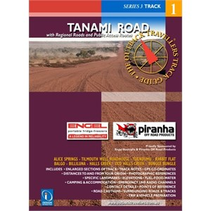 DesignInteraction Books Travel Guides, Tanami Road - The Outback Travellers Guide