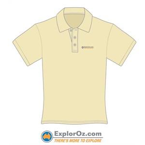 Unisex Khaki Polo Shirt - TMTE