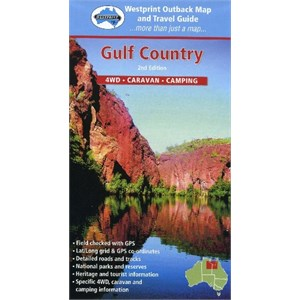 WestPrint Maps Outback & Regional, Gulf Country