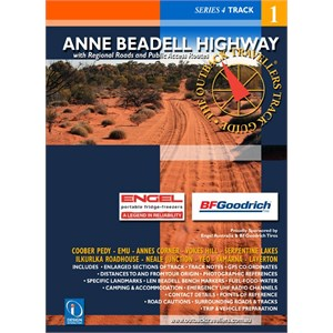 DesignInteraction Books Travel Guides, Anne Beadell Highway - Outback Travellers Guide