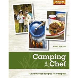 ExploreAustralia Books Camp Cookbooks, Camping Chef