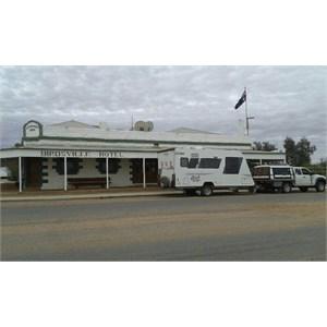Avida Emerald caravan and Mazda BT50