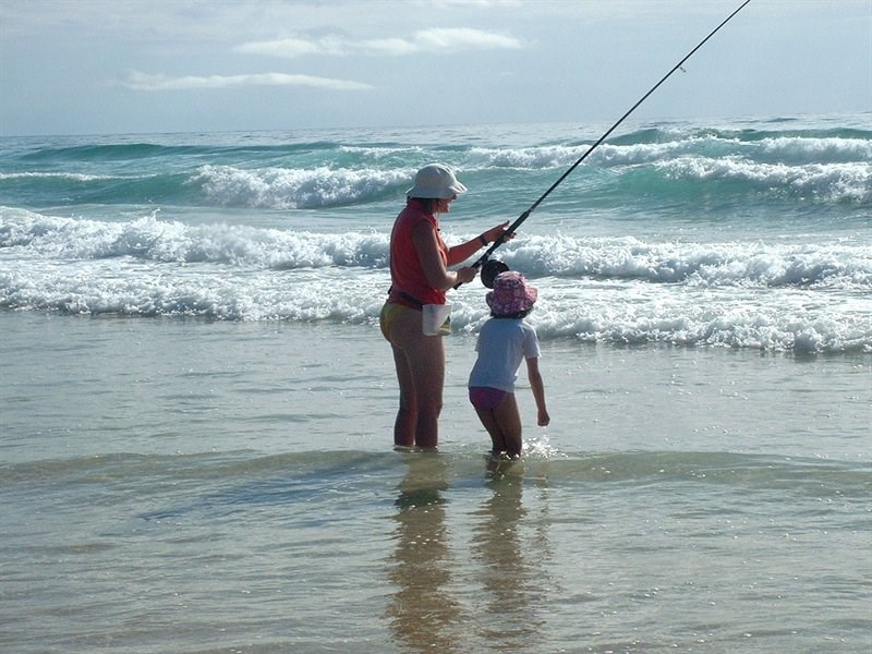 Put on your wet weather overalls, berley up the water and cast a 70 plus metre line to get past the breakers this is the typical lifestyle of the dedicated beach angler.