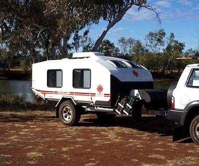 Compact Off Road Caravan