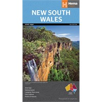 New South Wales State Map