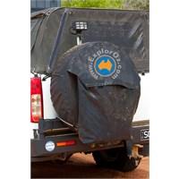 "ExplorOz Spare Wheel Rubbish Bag Sz 33"" and Above"
