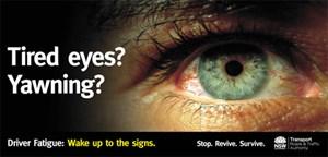Billboard campaign NSW Roads & Traffic Authority