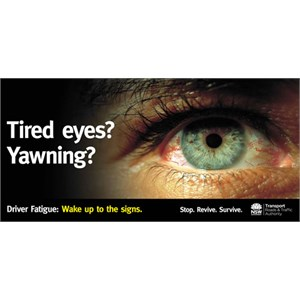 Billboard campaign NSW Roads & Traffic Authority
