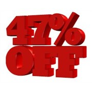 47% sale
