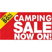 Adventure Camping Sale