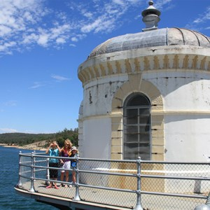 Mundaring Weir tourist platform