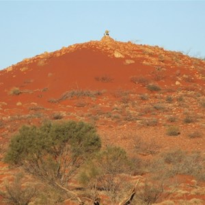 Simpson Desert via Geosurveys Hill