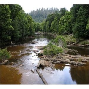Arthur River to Corinna