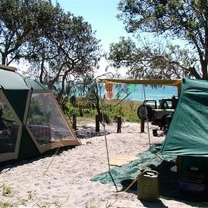 Bribie Island (Campsites)