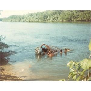 Daintree River Crossing