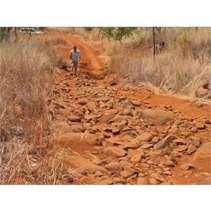 4WD track in 2005. In 2010 its the walking track.