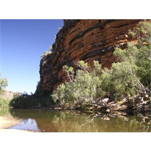 Windjana Gorge Camp Area