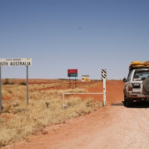 Cordillo Downs Rd, QLD-SA Border