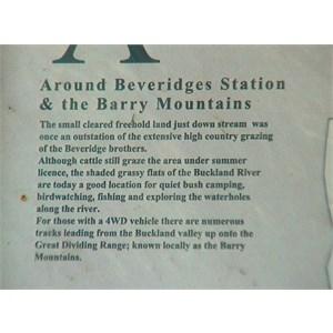 Beveridges Station Information