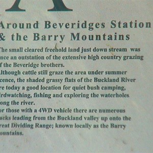 Beveridges Station Information