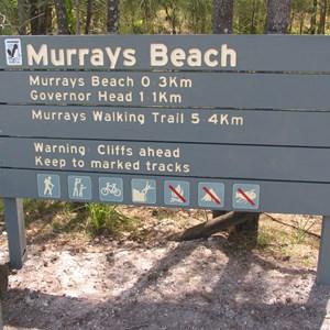 Murrays Beach carpark