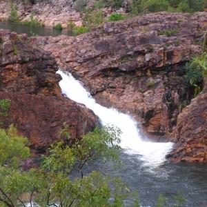 Upper falls - southern side