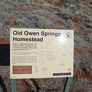Old Owen Springs (Ruins)