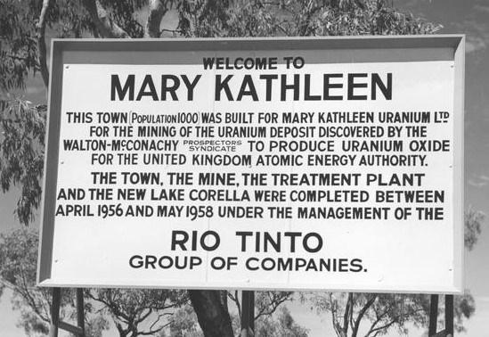 Mary Kathleen QLD