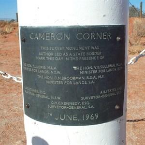 Cameron Corner