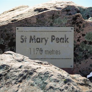 St Mary Peak
