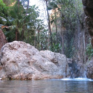 El Questro gorge swimming hole