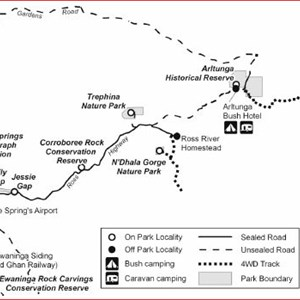 N'dhala Gorge Nature Park