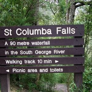 St Columba Falls State Reserve