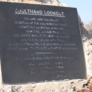 Coulthard Lookout