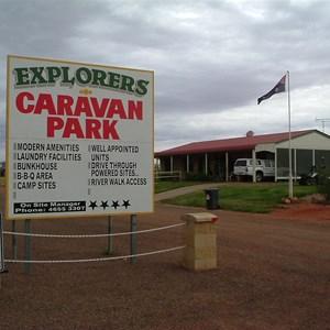 Thargomindah Explorers Caravan Park