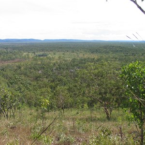 Northward view along South Alligator River valley.