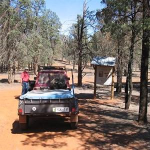 Locked Gate - Warraweena Boundary