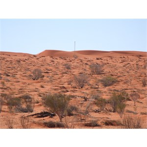 Geographical Centre of Simpson Desert