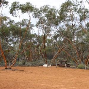 Victoria Rock Group Camp Area