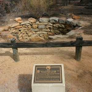 Gnarlbine Rock Well and Plaques