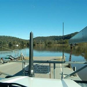Webbs Creek Car Ferry