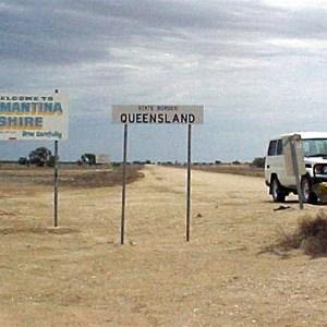 Birdsville Tk, SA-QLD Border