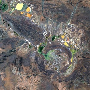 Shoemaker Meteorite Impact Crater