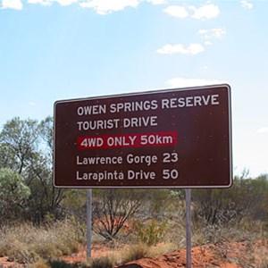 Stuart Highway & Owen Springs Access Tk