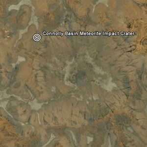 Connolly Basin Meteorite Impact Crater
