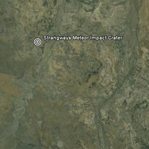 Strangways Meteorite Impact Crater